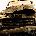 The Old Jalopy . 7D8396 Print by Wingsdomain Art and Photography
