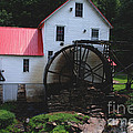 The Old Mill 1886 in Cherokee North Carolina Poster by Susanne Van Hulst