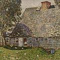 The Old Mulford House Print by Childe Hassam