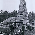The Original 1859 Drake Oil Well Poster by Everett