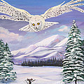 The Owl and the Rat Poster by Phyllis Kaltenbach