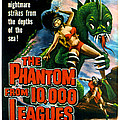 The Phantom From 10,000 Leagues, Poster Poster by Everett