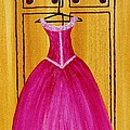 The Pink Dress 4535 Poster by Jessie Meier