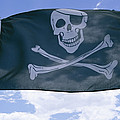 The Pirate Flag Known As The Jolly Poster by Stephen St. John