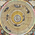 The Planisphere Of Ptolemy, Harmonia Print by Science Source