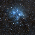 The Pleiades, Also Known As The Seven Poster by John Davis