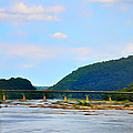 The Potomic River West Virginia Print by Bill Cannon
