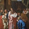 The Presentation of Christ in the Temple Print by Charles Le Brun