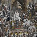 The Procession in the Streets of Jerusalem Print by Tissot