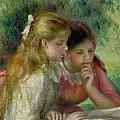The Reading Poster by Pierre Auguste Renoir