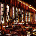The Red Barn of the Boeing Company IV Print by David Patterson