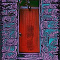 The Red Door Print by Tim Allen