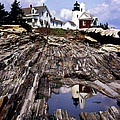 THE REFLECTION AT PEMAQUID Print by Skip Willits