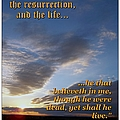 The Resurrection Poster by Glenn McCarthy Art and Photography