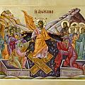 The Resurrection of Christ Print by Julia Bridget Hayes