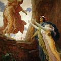 The Return of Persephone Print by Frederic Leighton