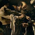The Return of the Prodigal Son Print by Giovanni Francesco Barbieri