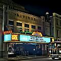 The Riveria Theater Poster by Corky Willis Atlanta Photography