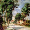 The Road to Essoyes by Pierre Auguste Renoir