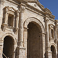 The Ruins Of The Ancient City Of Jerash Print by Taylor S. Kennedy