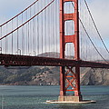 The San Francisco Golden Gate Bridge - 5D18911 Print by Wingsdomain Art and Photography
