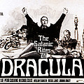 The Satanic Rites Of Dracula, Center Poster by Everett