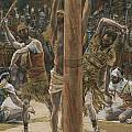 The Scourging on the Back Poster by Tissot