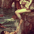 The Siren Print by John William Waterhouse