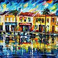 the spirit of miami  Poster by Leonid Afremov