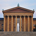 The Steps of the Philadelphia Museum of Art Print by Bill Cannon