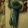 The Street Altar Print by Sir Lawrence Alma-Tadema