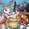 The Tea Party Print by Lucia Stewart