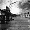 The Three Benicia-Martinez Bridges . A Journey Through Time . Black and White Poster by Wingsdomain Art and Photography