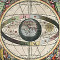 The Universe Of Ptolemy Harmonia Print by Science Source