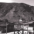 The Upper Village of Calico Ghost Town Poster by Susanne Van Hulst