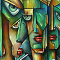 THE WALL Poster by Michael Lang