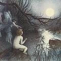 The Water Babies Poster by Warwick Goble