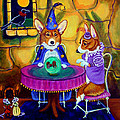 The Wizard of Pembroke - Welsh Corgi Print by Lyn Cook