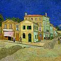 The Yellow House Print by Vincent Van Gogh