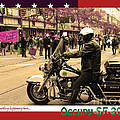 Theres Something Happening Here . Occupy SF 2011 . Version 2 Print by Wingsdomain Art and Photography