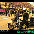 Theres Something Happening Here . Occupy SF 2011 Print by Wingsdomain Art and Photography
