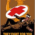 They Fight For You Protect Them Poster by War Is Hell Store