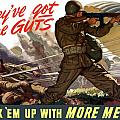 They've Got The Guts Print by War Is Hell Store