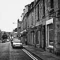 thistle street rows of granite houses and shops aberdeen scotland uk Print by Joe Fox