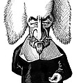 Thomas Hobbes, Caricature Poster by Gary Brown