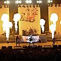 Three Days Grace On Fire Print by Amber Flowers