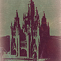 TIBIDABO BARCELONA Print by Irina  March