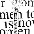 time for women Print by Anahi DeCanio
