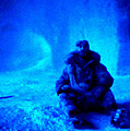 Time Stopped in a Huge Snow Ice  Grotte Print by Colette V Hera  Guggenheim