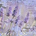 Timeless Lavender Print by Anahi DeCanio